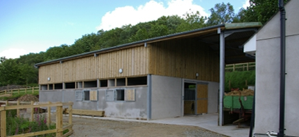 Stabling and Construction Work