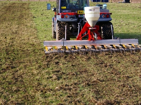 Chain Harrowing or Scarifying
